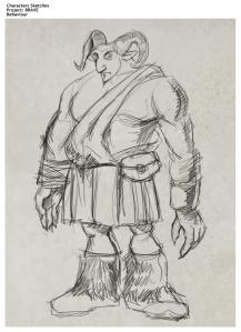 Colossus sketch