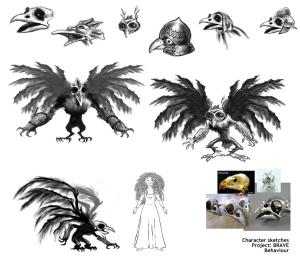 harpie NEW-Bird Creature