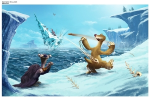 Ice Age Fight